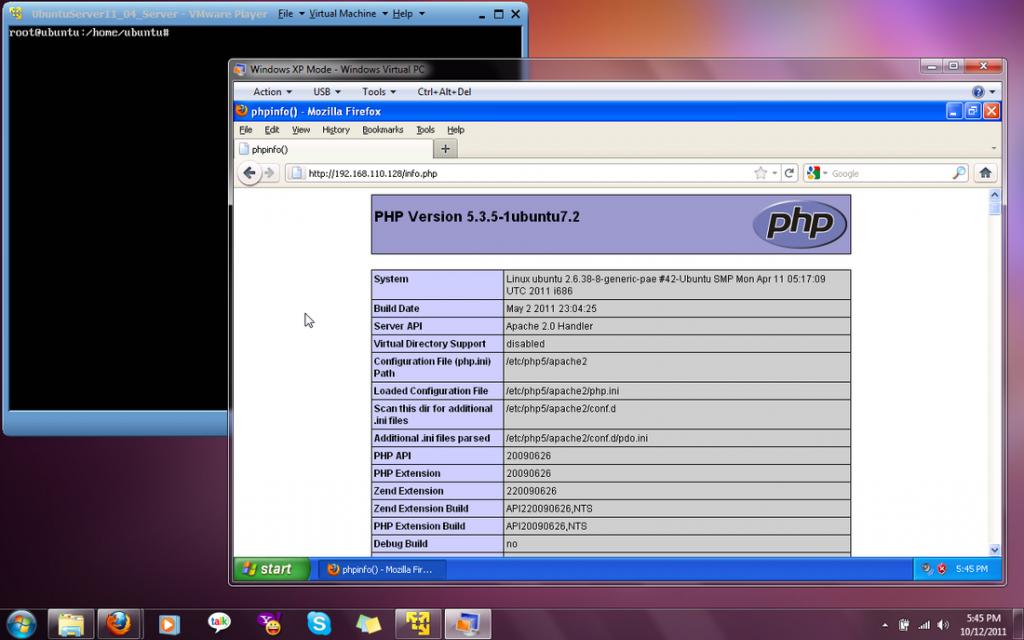 Installing LAMP on Ubuntu Server – Rustan Roxas Capal